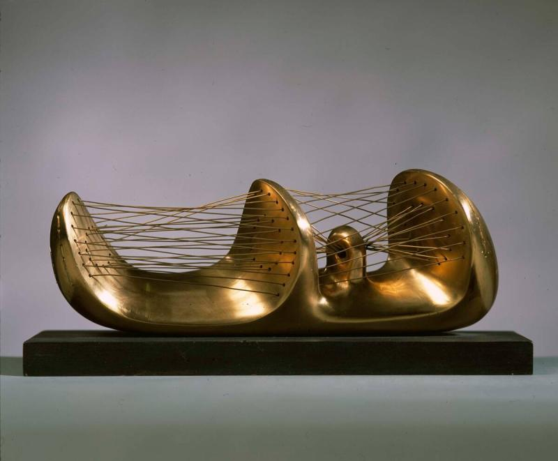Reclining Stringed Figure
