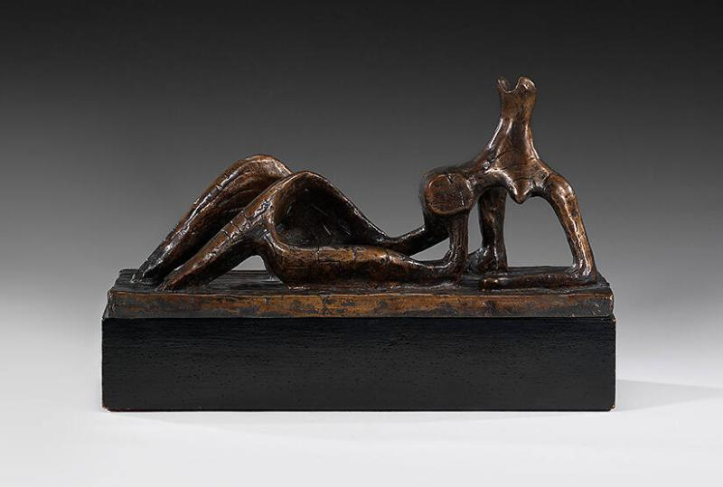 Small Maquette No. 1 for Reclining Figure