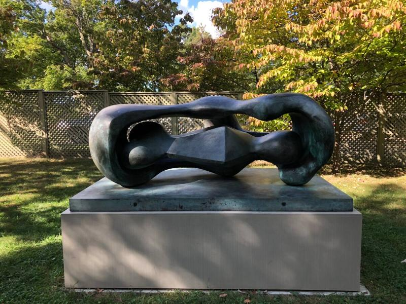 Reclining Connected Forms